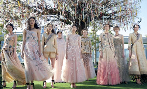 Dior的日本情缘