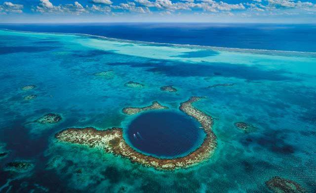 深邃的眼睛-伯利兹大蓝洞  Great Blue Hole, Belize