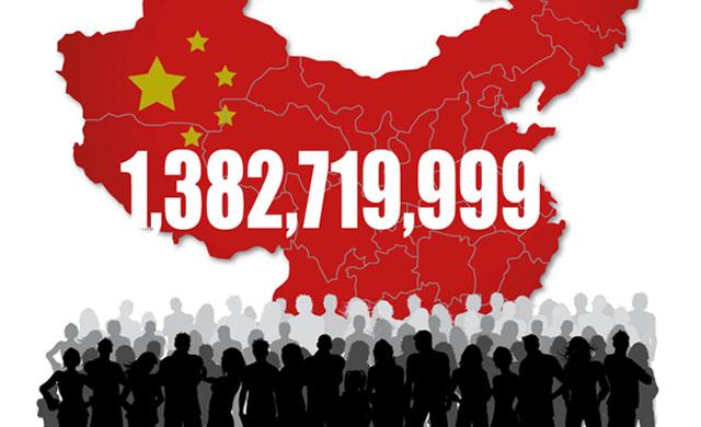 数字闪烁有时: [1,382,719,999]人口大国