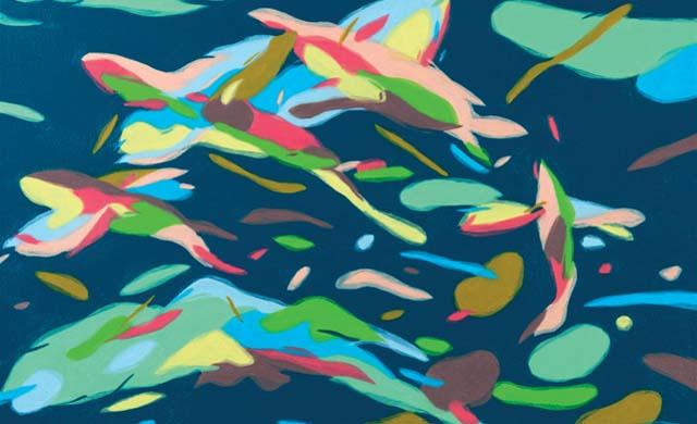 与艺术同眠|徜徉水舞间