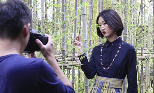 幕后花絮:《ICON风华》10月号封面人物   李沐樱子