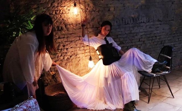幕后花絮:《ICON风华》12月号封面人物   黄薇渟