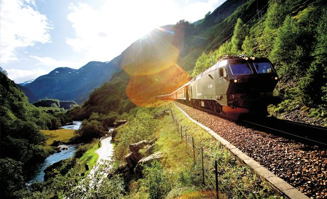挪威峡湾列车 FlamRailway