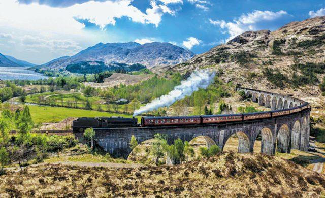 苏格兰高地Jacobite蒸汽火车 Jacobite Steam Train