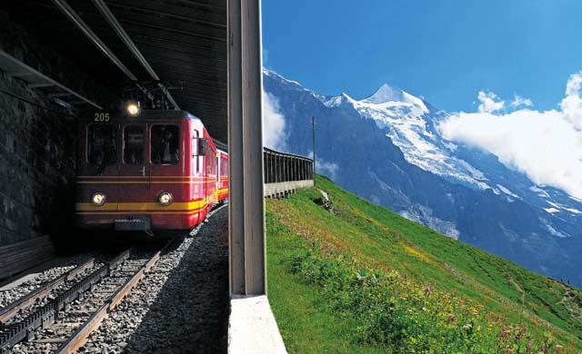 少女峰登山列车 Jungfraujoch Railway