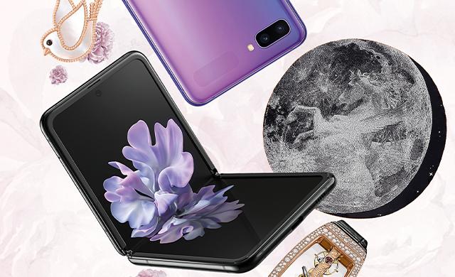 Samsung Galaxy Z Flip炫丽登场
